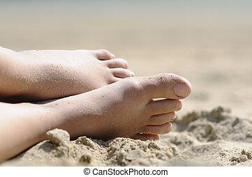 playa, relajante