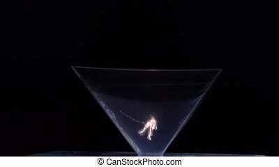 incredibly beautiful moving hologram