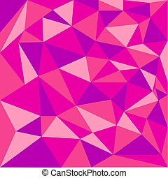 Abstract background of triangles in red tones