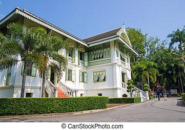 Museum at Phrae Thailand.