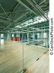 Former factory revitalization - Modern spacious workplace...