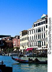 Venezia - Italia - Panorama del Canal Grande di Venezia -...