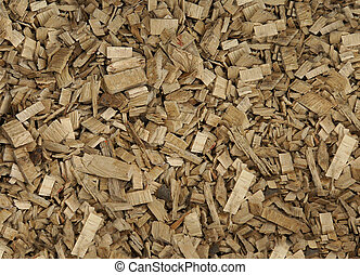 Wood chips pattern - Chaotic wood chips pattern as abstract...