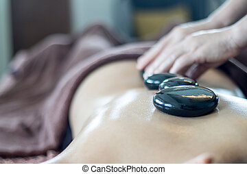 stone therapy, hot stone massage