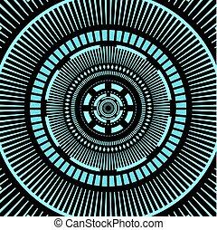 futuristic tunnel design - creative design fo futuristic...
