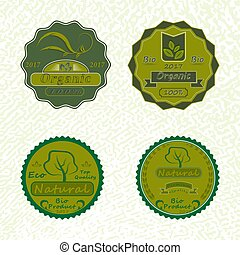 The vector set of badges