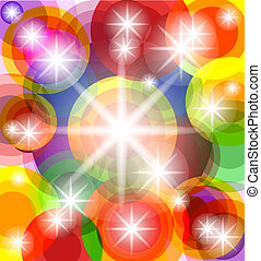 abstract sunny background. EPS10 - vector illustration of an...