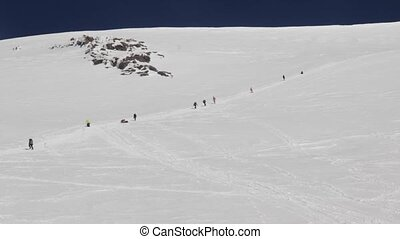 Mount Elbrus, Russia: Climbing to the top of Elbrus - 2014...