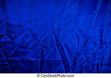 Blue Fabric Pattern Background