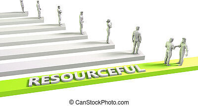 Resourceful Mindset for a Successful Business Concept