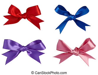 red ribbon celebration christmas bi - collection of various...