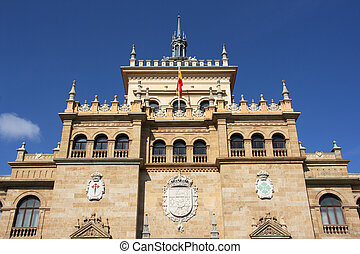 Landmark in Valladolid - The Academia de Caballeria Cavalry...