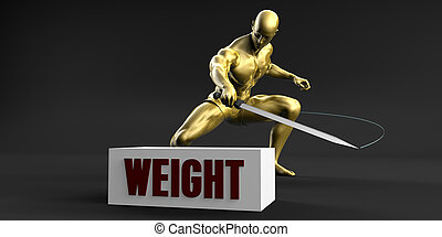 Reduce Weight and Minimize Business Concept
