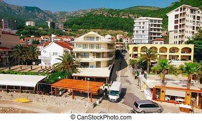 Villa near the sea in the village of Rafailovici, Montenegro. Ae