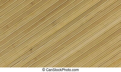 Rotation bamboo mat, background texture for design. View...