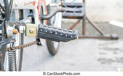 Pedal bike (detail of cicycle)