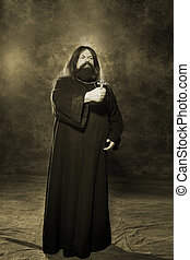Russian priest of the 19th century - Orthodox priest in...