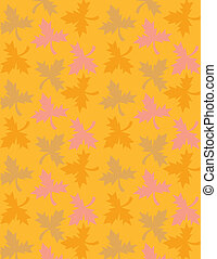 Background Autumn Fall Leaves - Background of Autumn Fall...