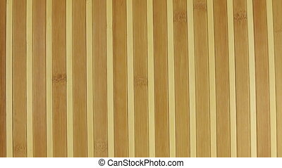 Zoom bamboo mat, background texture for design. View from...