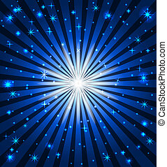 night sky with stars - vector illustration of a night sky...