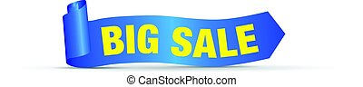 big big sale sign