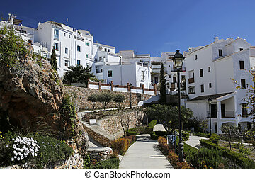 Frigiliana- one of the beautiful spanish pueblos blancos in Andalusia, Costa del Sol, Spain