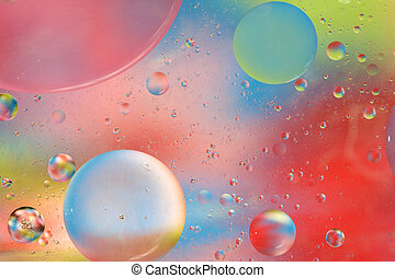 Soothing Bubbles Background - Abstract Background with...