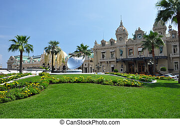 Monte Carlo Casino - Front of the Monte Carlo casino, Monaco