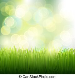natural background of grass
