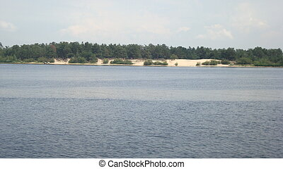Panorama of lakes, rivers and water