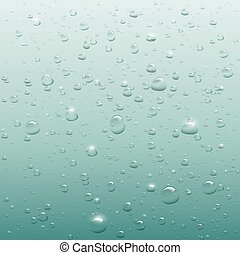 Background of bubbles in water