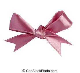 pink ribbon celebration christmas birthday - close up of...