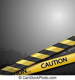 warning tape