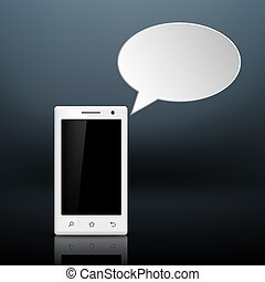 message on your smartphone
