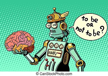 Artificial intelligence and the human brain. to be or not to...