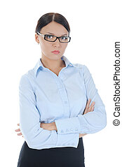 Portrait of a young  businesswoman.