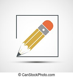Pencil drawing. Stock illustration. - Pencil drawing in...