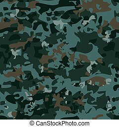 Seamless military camouflage pattern.