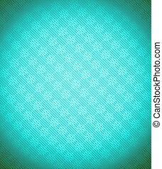 Turquoise - blue Xmas snowflake background. Stripes and...