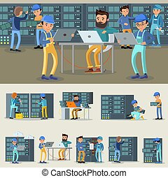 Datacenter Professional Workers Collection - Datacenter...
