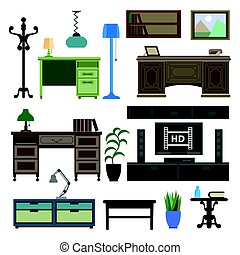 Home room and workplace furniture pieces and accessories...