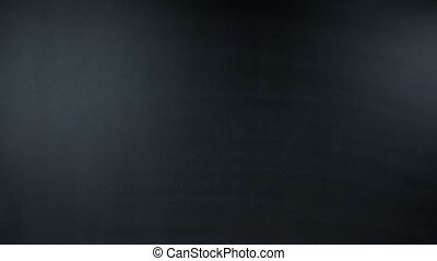 Strategy of success and money on a chalkboard: quality,...