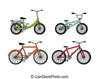 bicycles, 漫画, コレクション