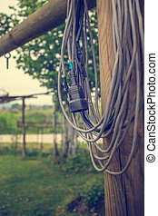 Extension power cord - Old Extension power cord, outdoor