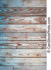Old wood planks vertical background. Obsolete color wooden...