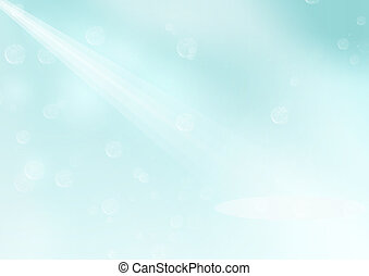 Light blue background - light blue background with rays of...