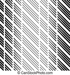 regular lined striped seamless background - illustration for...