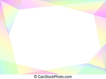 geometric spectrum abstract background