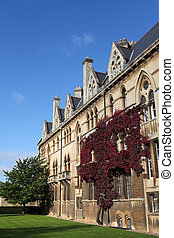 Christ Church in Oxford - Christ Church, famous University...
