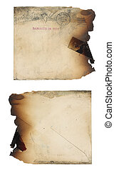 Fire Damaged Envelope